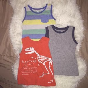 Boys bundle of 3 Old Navy muscle shirts